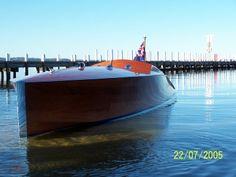 Rosita 24' Hacker designed built by Frecheville Heaney Boatbuilders