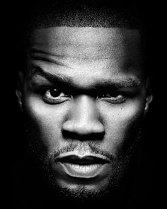 50 Cent is a rapper/businessman who is incredibly successful and lives a sober lifestyle. 50 Cent, Fifty Cent, Studio Portrait Photography, Studio Portraits, Art Photography, Eminem, World Press Photo, Black And White People, Hip Hop And R&b