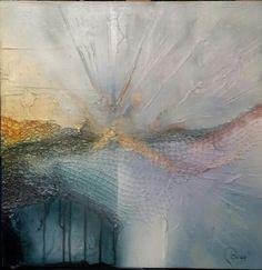 Paint by Binay Bükey. Mixed media, acrylic work on 60 x 60 cm. MDF. OCTOBER 2015.