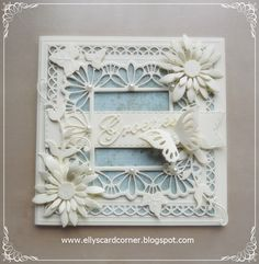 Samantha Scrapbooking Dies Metal Cutting Dies Frames and tags Craft Dies Cut for Photo Album Decorative Paper Cards Making Cool Cards, Diy Cards, Handmade Cards, Cards Made With Unbranded Dies, Card Making Tips, Wedding Anniversary Cards, Die Cut Cards, Pretty Cards, Paper Cards