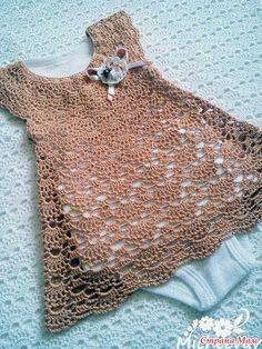Fabulous Crochet a Little Black Crochet Dress Ideas. Georgeous Crochet a Little Black Crochet Dress Ideas. Crochet Baby Dress Pattern, Baby Girl Crochet, Crochet Baby Clothes, Crochet For Kids, Baby Blanket Crochet, Crochet Patterns, Knitting Patterns, Crochet Vintage, Crochet Lace