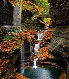 Watkins Glen, Upstate New York