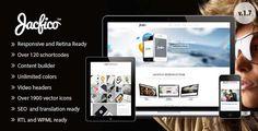 Jacfico - A flexible One Page WordPress Theme