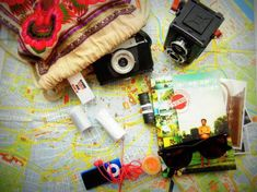 Going somewhere? Don't forget the most necessary things for your summer trip!