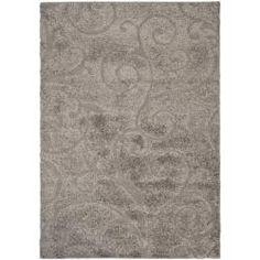 Safavieh Ultimate Dark Grey/ Beige Shag Rug (8'6 x 12') - Overstock™ Shopping - Great Deals on Safavieh 7x9 - 10x14 Rugs