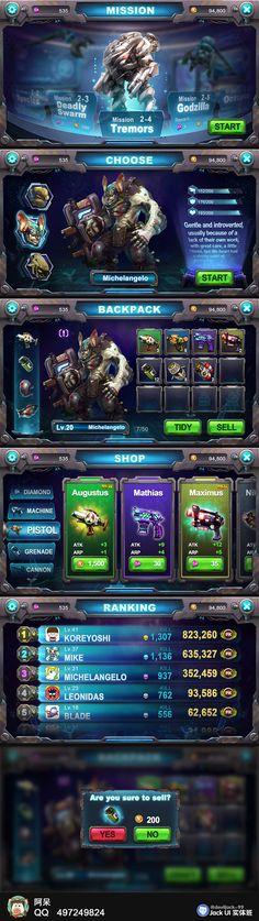 #Game UI kit