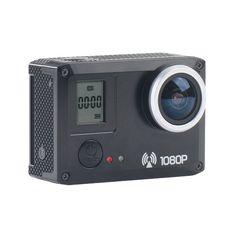 AMKOV SJ5000S Fotocamera Sportiva WiFi 11*13mm 20.MP 1280×720 30FPS - Nero