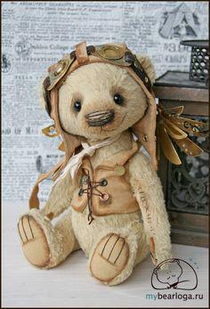 "steampunktendencies: ""Collectible Steampunk Teddy Bears By Elena Kamatskaya """