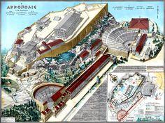 Acropole -  Atenas - Grécia  (450 a.C.)
