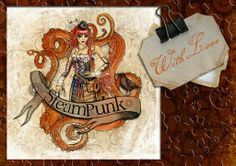 Created using a Steampunk style overlay from Digiboss Essentials & Daisytrail's Steampunk Emporium kit combined, to create this layout x