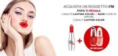 #ilbacioperfetto: #coupon #smalti #Pupa in #omaggio