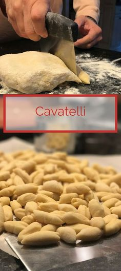 "Cavatelli - Our version of these little ""pillows"" of homemade pasta are easy to make and go well with so many sauces."