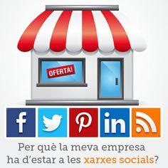 Per què la meva empresa ha d'estar a les xarxes socials? #socialmedia #ecommerce #communitymanager #màrquetingonline #inboundmarketing