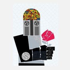 Druck Robot In Love, 23€, jetzt auf Fab.