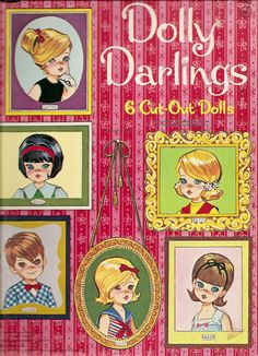 https://flic.kr/p/7BWhqZ | dolly darlings paper doll book | 1960s dolly darlings are so cute. (yes, they are darling! ) This book was originally 29 cents...such a bargain.