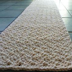 Handmade Natural Cotton Rug Hallway Runner Bathmat By Sosorosey 65 00 Jute Mats