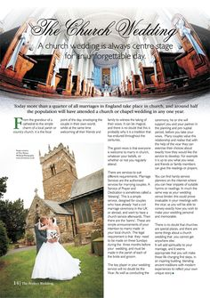 Is a church the right venue for you? Chapel Wedding, Church Wedding, Center Stage, Wedding Locations, Marriage, England, Places, Mariage, Weddings