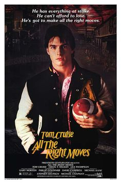 All the Right Moves movie poster (1983)