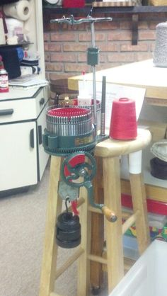 Vintage Antique Gearhart Sock Machine for sale