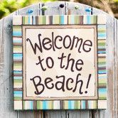 Found it at Wayfair - Glory Haus Welcome To the Beach Canvas Art