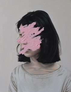 We had a chat with New Zealand painter Henrietta Harris and she told us how she came up with her signature distorted portrait paintings. Art Inspo, Kunst Inspo, Portrait Art, Portraits, Art Basel Miami, A Level Art, Painting Gallery, Gcse Art, Art Fair