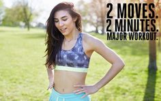 Two Moves Two Minutes Major Workout Burn fat and tone everything with these bodyweight exercises. Lose Fat Workout, Belly Fat Workout, Fat Burning Workout, Toning Workouts, Easy Workouts, Workout Bodyweight, Best Hiit Workout, Workout Ideas, Fitness Workouts