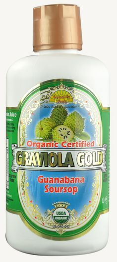 Soursop, fights certain cancers! Dynamic Health Organic Graviola Gold