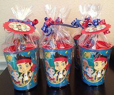 Jake And The Neverland Pirates Stocking Stuffers Party Favors Souvenir Cups #JakeAndTheNeverlandPirates #BirthdayChild