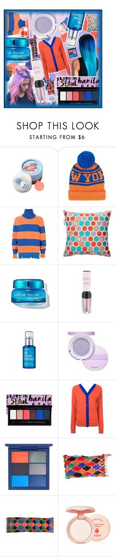 """""""Colour POP"""" by beanpod ❤ liked on Polyvore featuring The Face Shop, The Elder Statesman, Riccardo - Comi, Madura, Etude House, Marni, The Moroccan Room, Skinfood, TONYMOLY and Blue"""
