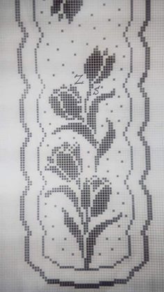 Crochet Pillow Pattern, Crochet Motifs, Crochet Chart, Filet Crochet, Crochet Doilies, Crochet Home, Easy Crochet, Doily Patterns, Crochet Patterns