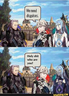 It's funny cause in the game you actually don't recognize Azura in the theater xd - Pheebs
