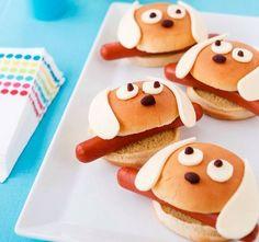 Auch das Essen darf manchmal lustig aussehen……9 lustige Ideen mit Nahrungsmitteln für Kinder! - DIY Bastelideen