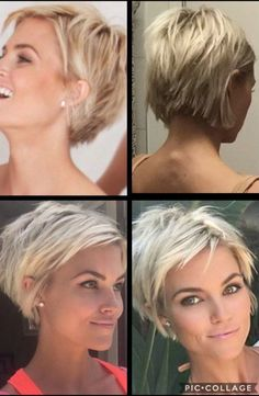 Bob Frisuren Kurz Kurzer Haarschnitt Feines Haar What Is Normal About Hair Loss? Hair Cure, Short Hair With Layers, Short Fine Hair, Short Hair Cuts For Women Over 40, Layered Short Hair, Short Hair Back, Short Wavy, Long Bob, Short Hairstyles For Women