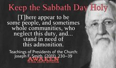 Joseph F. Latter Days, Latter Day Saints, Lds Quotes, Mormon Quotes, Sabbath Day Holy, General Conference Quotes, Saint Quotes, Cool Words, Awakening