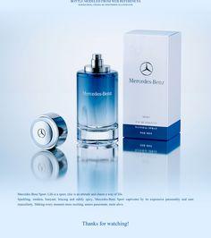 Mercedes-Benz SPORT - 3d scene of the Perfume on Behance