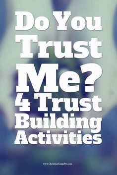 http://christiancamppro.com/do-you-trust-me-4-trust-building-activities/ - Trust building activities are a great way to build trust between people that have just met, and get them to form a bond, loosen up and have fun. These activities are best done after initial icebreakers to get the participants to trust each other and feel comfortable during the games. Rush Hour Traffic In this [...]