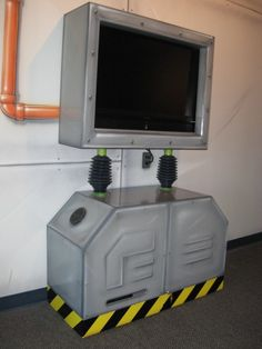Flat Screen TV and Game Station     http://www.atomicplaygrounds.com/products/must-haves/furniture-accessories/#