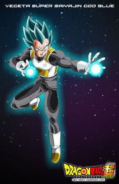 vegeta super saiyajin god BLUE by naironkr on @DeviantArt