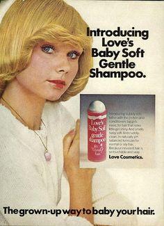 Loves Baby Soft Shampoo 1975