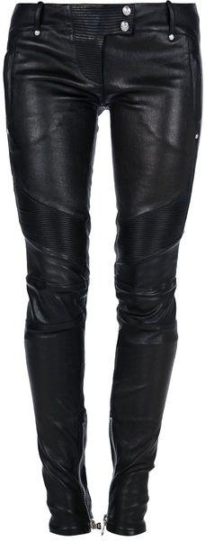 Balmain Skinny pants for Women Black Leather Jeans, Skinny Leather Pants, Black Skinnies, Skinny Pants, Studded Leather, Skinny Fit, Real Leather, Steampunk Pants, Steampunk Pirate