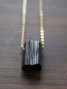 SALE 25% OFF:Tourmaline Crystal Point Necklace by friedasophie