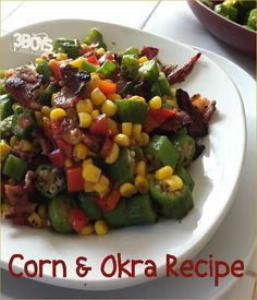 Okra and Corn (kinara) for Kwanzaa: Corn is one of the basic foods grown in Africa and is therefore a central food in it's culture and society. They regard the corn's life cycle as a symbol of the human life cycle.The stalk (kinara) represents the relationship between parents and children, and between their ancestors and their descendants.  Gluten free