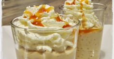 Rezepte mit Herz ♥: Latte-Macchiato-Milchreis mit Sahne + Karamellsoße