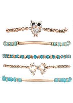 5pk Friendship Bracelet Set - Bracelets - Jewelry - Accessories - dELiA*s
