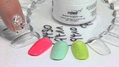 http://www.nded.com - The new Wetlook colour gel is the current nail design trend!