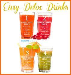 Easy DETOX drinks