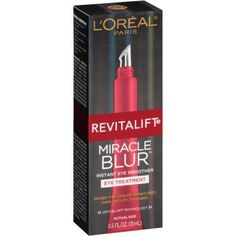L'Oreal Paris Revitalift Miracle Blur Instant Eye Smoother Eye Treatment, 0.5 fl oz