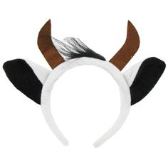 Cow Headband with Hair, Hobby Lobby