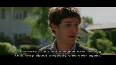 seth cohen :) I want to watch all the OC episodes... DONE!