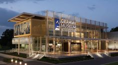 Modern Music Museum: GRAMMY Museum Mississippi emphasizes the history of music and its lasting impact External Cladding, Metal Cladding, Grammy Museum, Music Museum, Metal Panels, Corrugated Metal, Metal Roof, The Help, Architects